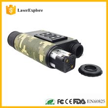 Laserexplore waterproof digital Monocular Hand-held infrared Ranging Night Vision