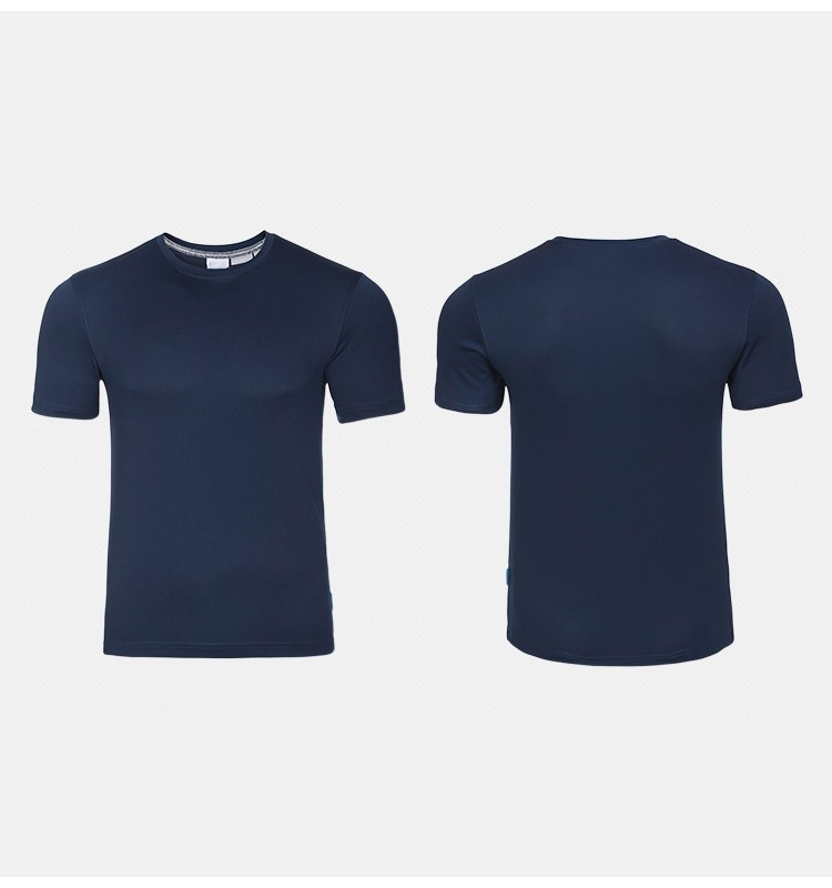 Hot sale basic cheap blank round neck advertising T-shirt over 200 colors custom 100% polyester t-shirt guangzhou manufacturer