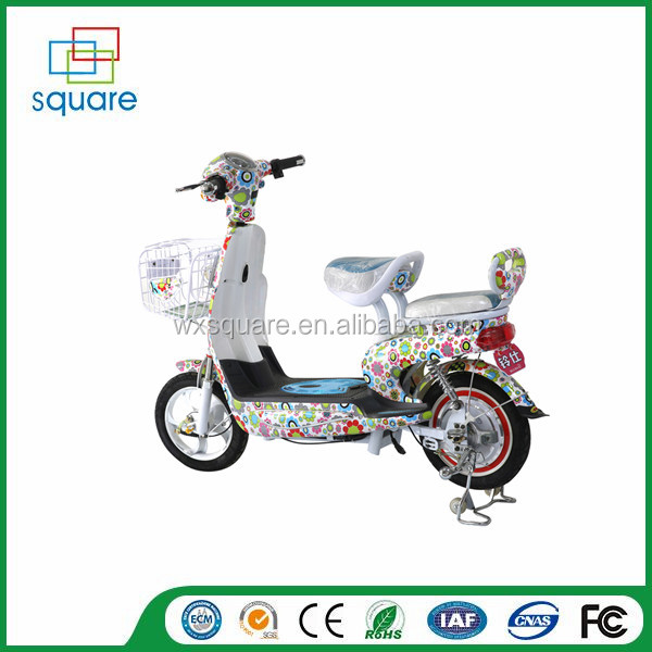 Elecreic motorcyle/moped/bike two wheel electric bike with pedal for sale