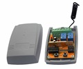 Automatic gate opener remote control transmitter receiver