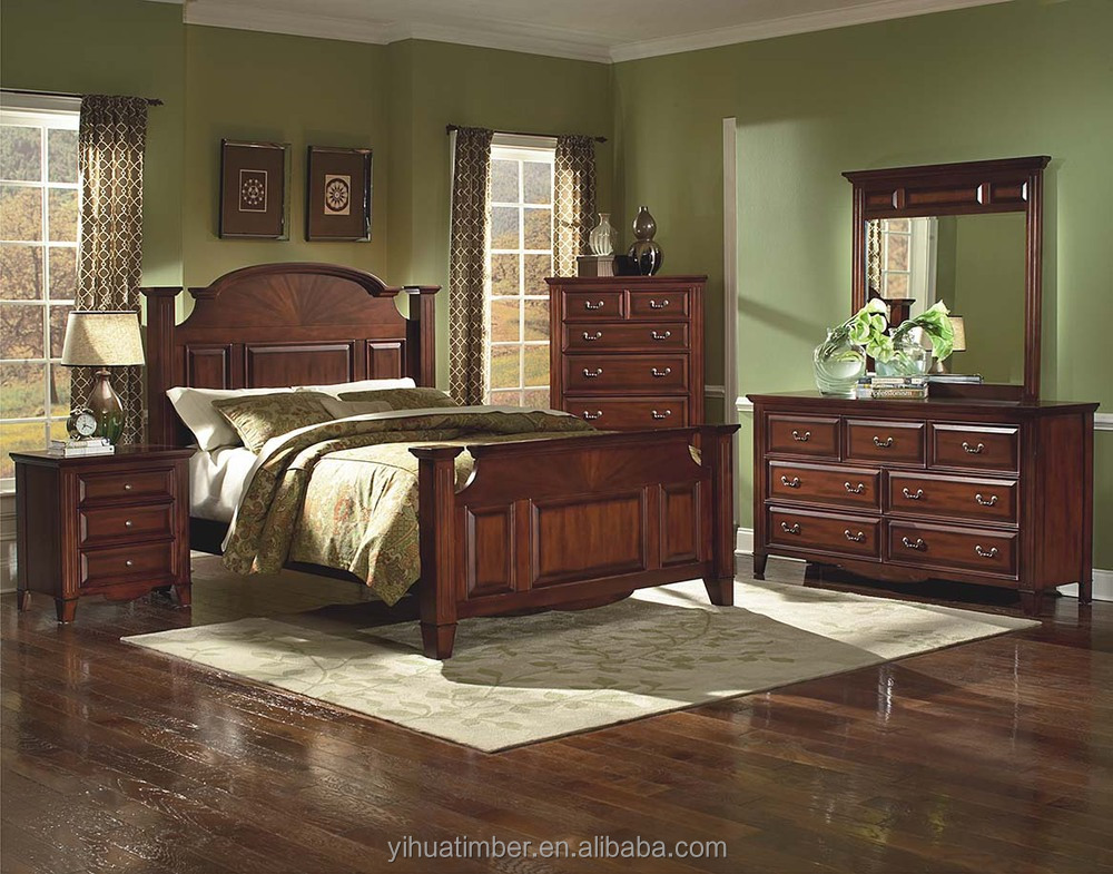 Muebles de dormitorio de madera de alta calidad 2015 la - Muebles de dormitorio antiguos ...
