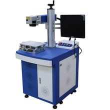 Fiber Laser Metal Marking Engraving Cutting Machine 30W CE FDA