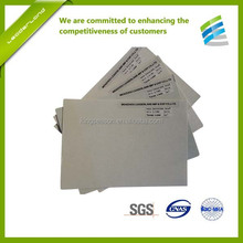 SGS certificate Back counter material for shoe