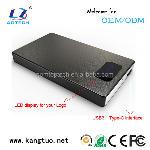 Factory best selling USB 3.0 HDD Enclosure 2.5 Inch HDD/SSD External Case