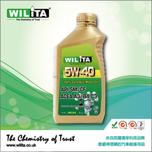 Synthetic Motor Oil, Engine Oil 5W40, Synthetic Engine Oil for Gasoline and Diesel Engine