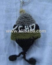 alpaca wool key rings