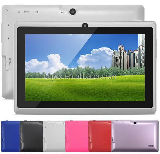 "Big sale!!! 7"" Android 4.4 Q88 ProAllwinner A33 Quad Core 1GB/16GB 1024*600 TWO Camera Bluetooth WIFI Android tablet pc"