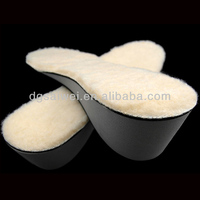 Winter foot warming wool insole good flexibility no stiff feeling EVA heightening insoles heated insoles for man and woman