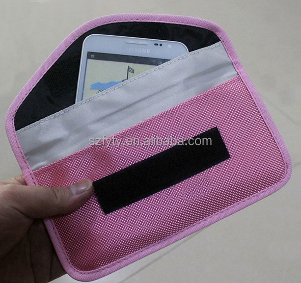 Large Smart Phones up to 6 inches Anti Radiation Pouch