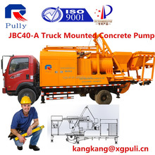 used truck for concrete machine batch mixer pump