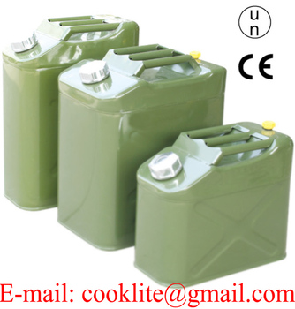 Square Jerry Can with Inner Oil Spout