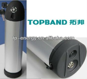 Topband 48V6Ah Mini water bottle electric bike Battery Pack with PCM Protection supplier
