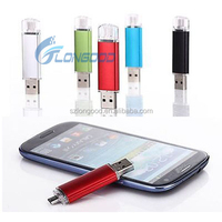 Popular mini smart phone OTG USB Flash Drive,OTG U disk for android and computer