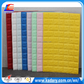 self adhesive colorful 3D PE/EVA Foam Wallpaper