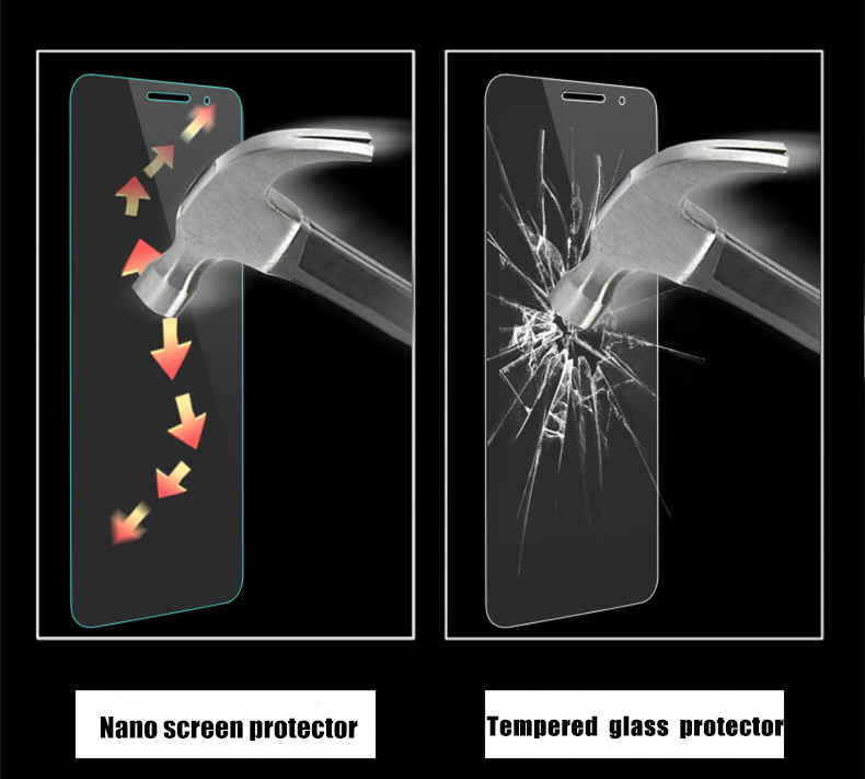 Nano liquid PET TPU anti-shock auto repair screen protector