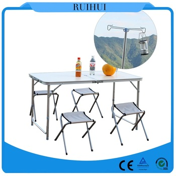 Picnic equipment catering bbq table and chairs set