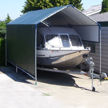 top grade weld fixing boat container shelter