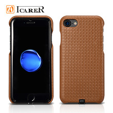 ICARER 2017 Wireless Charger Leather Phone Case for iPhone 7 7 plus