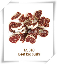 beef big sushi MJB10 dry Pets and dogs training health Food and Treats snacks Factory supplies manufacturers