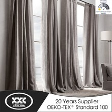 Factory Cheap Sale Faux Line Living Room Curtain Drapes