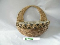 RATTAN WALL BASKET