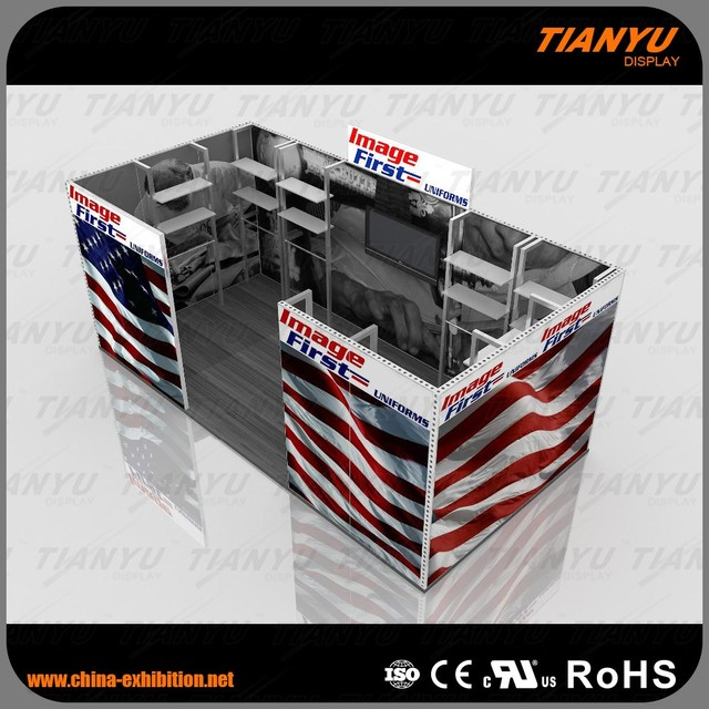 New Design Modular Standard Exhibition System Trade Show Booth 10x10