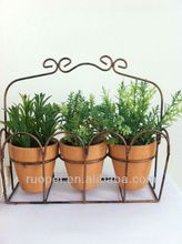 special potted artificial grass for decoration