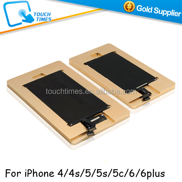 2 in 1 Metal Mould Glue Removing Mould for iPhone 4/4s 5/5s/5c 6/6 plus Glue Polarizer Remover