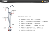 Bathroom Bath Set Brass chrome Shower Faucet freestanding outdoor faucet