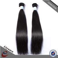 14 16 28 30 Inch Brazilian Human Hair Silky Straight Wave , Two Tone Human Hair