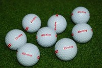 wholesale good durable practice golf ball for outdoor driving range