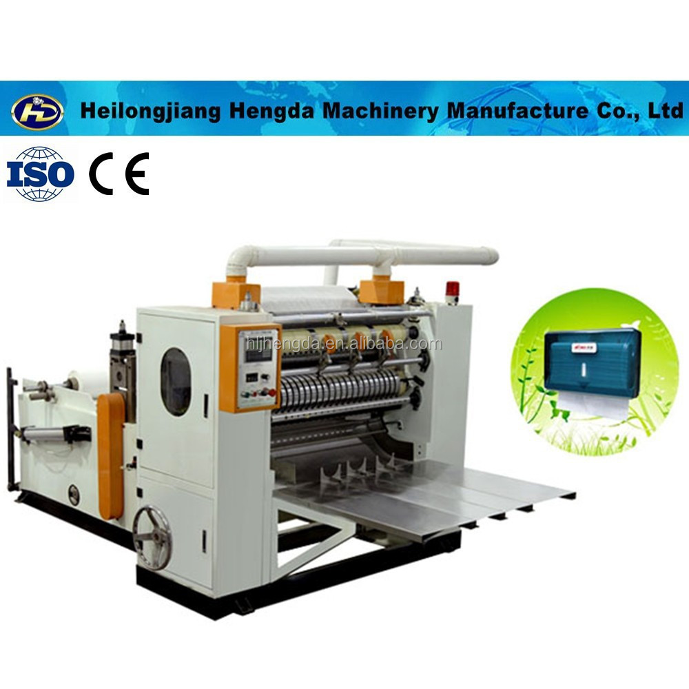 Z folding Automatic hand paper towel making machine factory Low Price