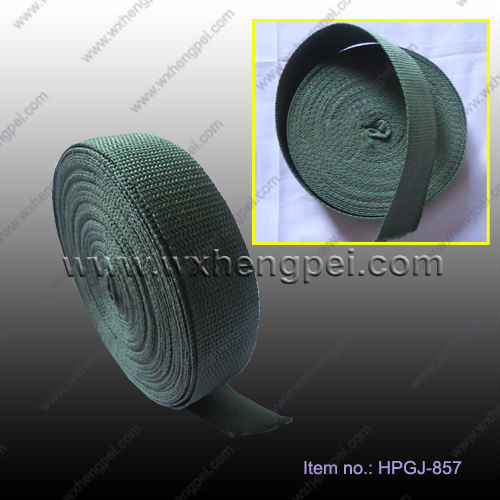100% nylon webbing for army with good quality safety belt nylon webbing Military webbing