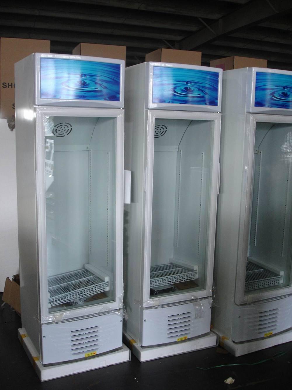 Commercial Glass Door Refrigerator Beverage Cooler