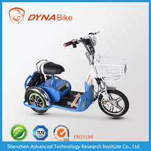 2015 top sales adults electric trikes with basket