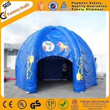 Outdoor activity inflatable tent camping inflatable dome tent F4104