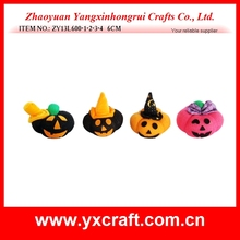 Halloween decoration (ZY13L600-1-2-3-4 6CM) halloween knitted stuffed pumpkin, halloween cute knitted decoration, halloween gift