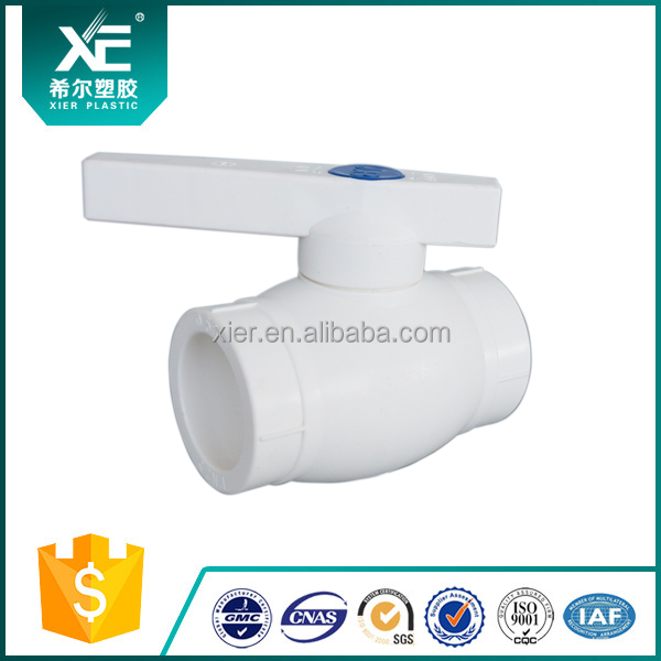 """XE"" With PP Ball for Construction Plastic PPR Ball Valve"