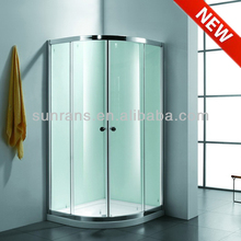 6MM tempered glass shower plastic shower cubicles