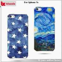 Promotions led light flash cases for iphone 5