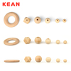 2016 new design Different shapes, sizes and colors FDA Approved Silicone Teething Beads for Jewelry