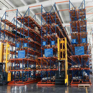 Chinese supplier custom pallet size thick angle warehouse equipment storage rack