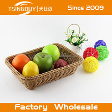 Collapsible Apple Shaped Storage Food-safe Wooden Bamboo Fruit Basket