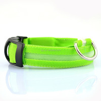 pet accessories pet supplies, led pet collar for dog,lighting on night,led collar,pet products,S,M,L,XL 4 available sizes