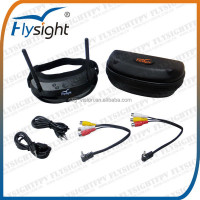C718 FLYSIGHT FPV Goggles 5.8GHz Dual Diversity 32CH Receiver With Head-Track FPV USA