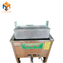 commercial automatic french fries onion donut frying machine