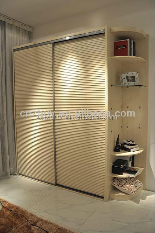 Wooden Bedroom Wall Book Wardrobe Cabinet Closet Sliding Doors Buy