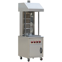 Stainless steel Gas kebab machine with cabinet BN-RG04-4