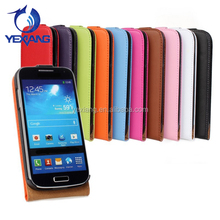 Wholesale PU Leather Flip Case For Samsung Galaxy S4 Mini,protective Case For Galaxy S4 Mini