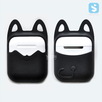 For Apple AirPods Case Silicone Shock Proof Protector Sleeve Skin Cover for AirPods charging box